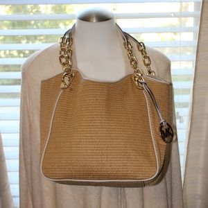 COPY - Michael Kors Straw Style Tote
